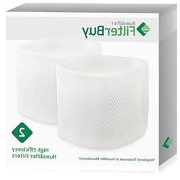 FilterBuy Humidifier Wick Replacement Filters Compatible wit