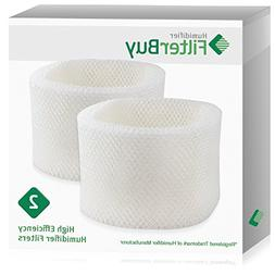 FilterBuy Replacement Humidifier Filters Compatible with HWF