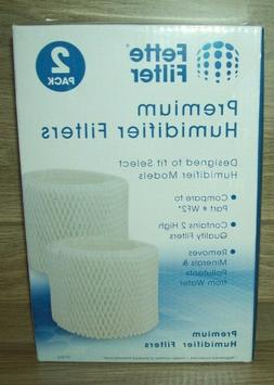2 Pack Fette Filter Humidifier Wicking Filters Compatible w/
