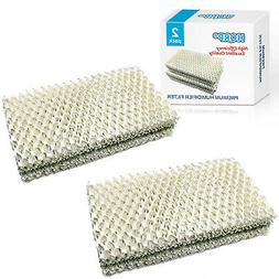 2-Pack HQRP Wick Filter for Sears Kenmore Series Humidifiers