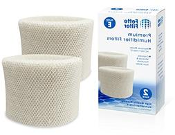 Fette Filter 2-Pack Humidifier Wicking Filters. Compatible H