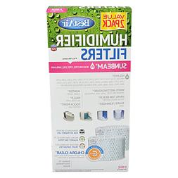 Bestair H62 Humidifier Filters with Chlora-Clear for Sunbeam