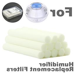 ZELAF 12 Pack 2.38 x 0.31inch Replacement Sponge Filters