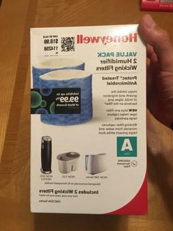 HONEYWELL Value pack 2 humidifier antimicrobial wicking filt